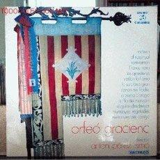 Discos de vinilo: ORFEO GRACIENC. Lote 1620992