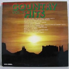 Discos de vinilo: COUNTRY HITS VOL.2 LP33. Lote 792839