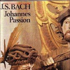 Discos de vinilo: J.S.BACH CAJA DISCO 3 LP CON LIBRETO. Lote 21187221