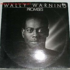Discos de vinilo: WALLY WARNING ( PROMISES ) 1983-GERMANY LP33 TELDEC. Lote 802072