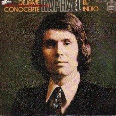 Disques de vinyle: RAPHAEL DISCO SINGLE. Lote 18020382