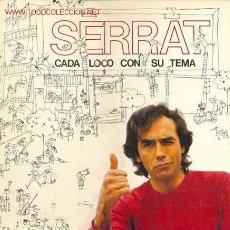 Discos de vinilo: JOAN MANUEL SERRAT - , LP DE PORTADA ABIERTA EDITADO POR ARIOLA EN 1983. Lote 23864520