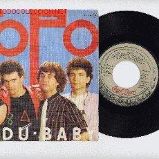 Discos de vinilo: TOPO VUDU BABY . Lote 26445436