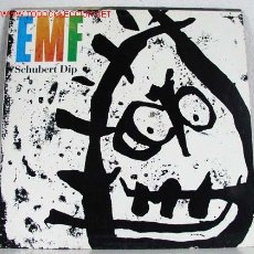 Discos de vinilo: EMF ( SCHUBERT DIP ) 1991 - EEC LP33. Lote 815234