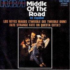 Discos de vinilo: MIDDLE OF THE ROAD. Lote 21875549
