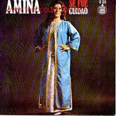 Discos de vinilo: AMINA. Lote 21875550