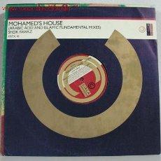 Discos de vinilo: MOHAMED'S HOUSE (ARABIC ACID AND ISLAMIC FUNDAMENTAL MIXES) MAXISINGLE 45RPM. Lote 817513