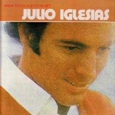 Discos de vinilo: JULIO IGLESIAS DISCO LP PORTADA DOBLE CON LETRA DE CANCIONES. Lote 16985826