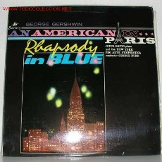 Discos de vinilo: GEORGE GERSHWIN (RHAPSODY IN BLUE - AN AMERICAN IN PARIS) JOYCE HATTO, PIANO LP33. Lote 831837