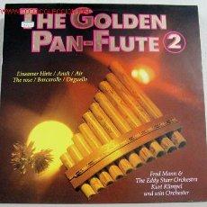 Discos de vinilo: THE GOLDEN PAN - FLUTE 2 LP33. Lote 111167004
