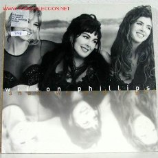 Discos de vinilo: WILSON PHILLIPS ( SHADOWS AND LIGHT ) 1992 - ITALY LP33 SBK RECORDS. Lote 847453