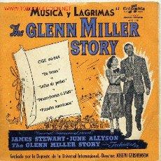 Discos de vinilo: MUSICA Y LAGRIMAS (GLENN MILLER) . Lote 849720