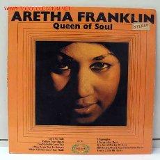 Discos de vinilo: ARETHA FRANKLIN ( QUEEN OF SOUL ) ENGLAND-1968 LP33 HALLMARK RECORDS. Lote 2397951