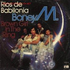 Disques de vinyle: BONEY M.. Lote 858515
