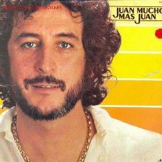 Discos de vinilo: JUAN PARDO - JUAN MUCHO MAS QUE JUAN, LP EDITADO POR HISPAVOX EN 1980. Lote 23937348