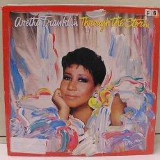 Discos de vinilo: ARETHA FRANKLIN ( THROUGH THE STORM ) 1988/1989 GERMANY LP33 ARISTA RECORDS. Lote 864883