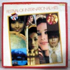 Discos de vinilo: FESTIVAL OF INTERNATIONAL HITS OF THE SIXTIES 1969 (VARIOS ) CAJA CON DIEZ LP33). Lote 10836738