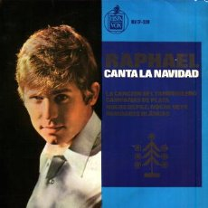 Discos de vinilo: MUSICA GOYO - EP VINILO - RAPHAEL - CANTA A LA NAVIDAD - *EE99. Lote 23286065