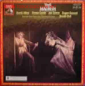 VERDI : MACBETH (Música - Discos - LP Vinilo - Clásica, Ópera, Zarzuela y Marchas)