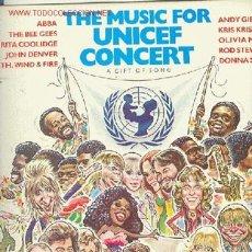 Discos de vinilo: UNICEF CONCERT. Lote 23846978