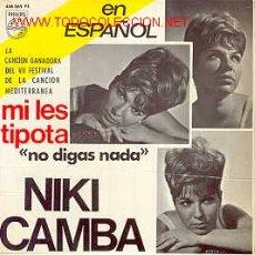 Discos de vinilo: NIKI CAMBA . Lote 18773383