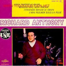 Discos de vinilo: RICHARD ANTHONY. Lote 19082303