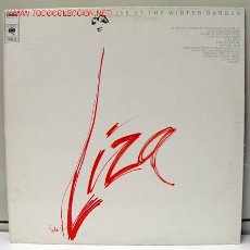 Discos de vinilo: LIZA MINNELLI (LIVE AT THE WINTER GARDEN) LP33. Lote 886868