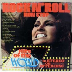 Discos de vinilo: 20 NON-STOP ROCK N' ROLL HITS OF THE WORLD LP33. Lote 887208