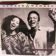 Discos de vinilo: WOMACK & WOMACK (RADIO M.U.S.C. MAN) LP33. Lote 890455