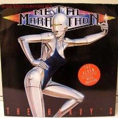 Discos de vinilo: THE HEAVY'S ( METAL MARATHON ) 1989 - GERMANY LP33 ARIOLA RECORDS. Lote 891248