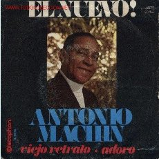 Discos de vinilo: ANTONIO MACHÍN . Lote 902545