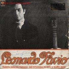 Discos de vinilo: LEONARDO FAVIO . Lote 905974