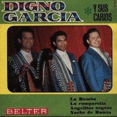 Discos de vinilo: DIGNO GARCIA Y SUS CARIOS . Lote 27519741