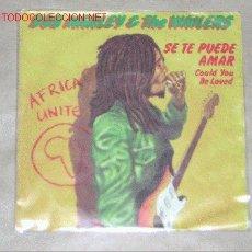 Discos de vinilo: TOT MUSIC - BOB MARLEY & THE WAILERS - SINGLE VINILO - 1980 . Lote 2925469
