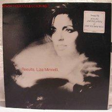 Discos de vinilo: LIZA MINNELLI (RESULTS) LP33. Lote 932489