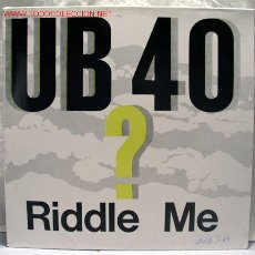 Discos de vinilo: UB40 (RIDDIE ME - D.U.B D.U.B.) MAXISINGLE 45RPM. Lote 932503