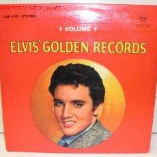 Discos de vinilo: ELVIS PRESLEY ( ELVIS' GOLDEN RECORDS VOLUME 1 ) 1958 - GERMANY LP33 RCA. Lote 5104333
