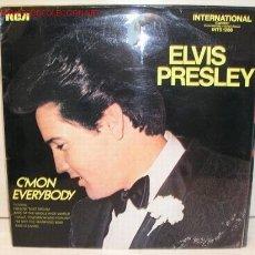 Discos de vinilo: ELVIS PRESLEY (C'MON EVERYBODY) LP33. Lote 5104334