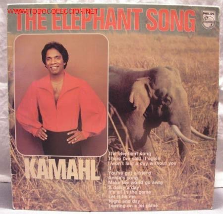 KAMAHL (THE ELEPHANT SONG) LP33 (Música - Discos - LP Vinilo - Étnicas y Músicas del Mundo)
