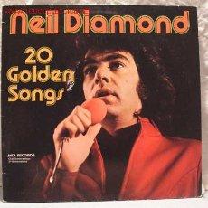 Discos de vinilo: NEIL DIAMOND (20 GOLDEN SONGS) 1975 LP33. Lote 944835