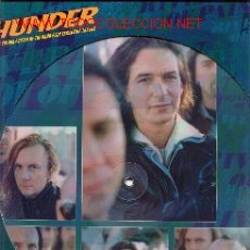 Discos de vinilo: THUNDER DISCO PICTURE MAXISINGLE CON POSTER. Lote 25224627