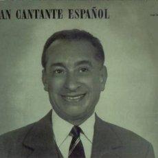 Discos de vinilo: LP MARCOS REDONDO UNGRAN CANTANTE ESPAÑOL. Lote 1168636