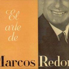 Discos de vinilo: LP EL ARTE DE MARCOS REDONDO. Lote 1168637