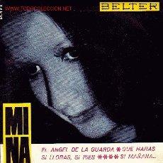 Discos de vinilo: MINA DISCO EP ESPAÑOL DISCO Y MCARPETA. Lote 25138785