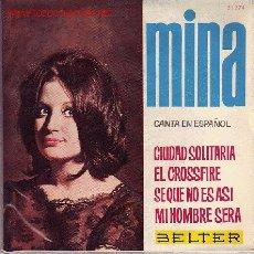 Discos de vinilo: MINA DISCO EP CANTADO EN ESPAÑOL. Lote 25138788