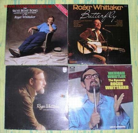 LOTE 4LPS 33RPM ''ROGER WHITTAKER'' (Música - Discos - LP Vinilo - Otros estilos)
