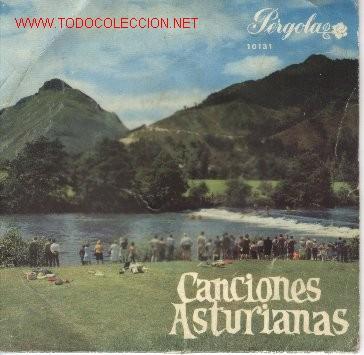 CANCIONES ASTURIANAS (Música - Discos de Vinilo - EPs - Otros estilos)