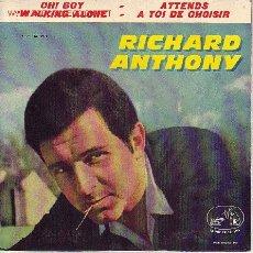 Discos de vinilo: RICHARD ANTHONY DISCO EP ESPAÑOL. Lote 18264829