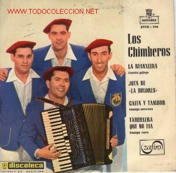 EP DE LOS CHIMBEROS (1963) (Música - Discos de Vinilo - EPs - Otros estilos)