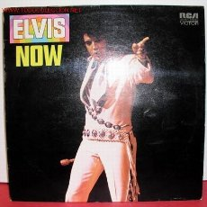 Discos de vinilo: ELVIS PRESLEY (ELVIS NOW) LP33. Lote 5104340